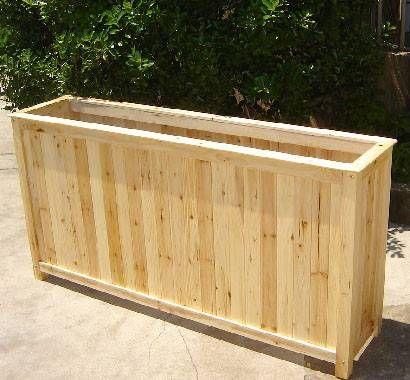 Villa Pedestal Wood Planter 60 Quot X 14 Quot W X 30 Quot H Boxes