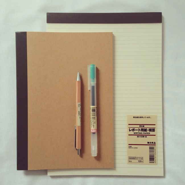 I popped into MUJI on Thursday without any intention of buying stationery. I was queuing up to pay for my pyjamas and before I knew it I was paying for a load of stationery too (they cleverly put t...