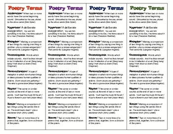 34 best Poetry 6th grade images on Pinterest | Activities ...
