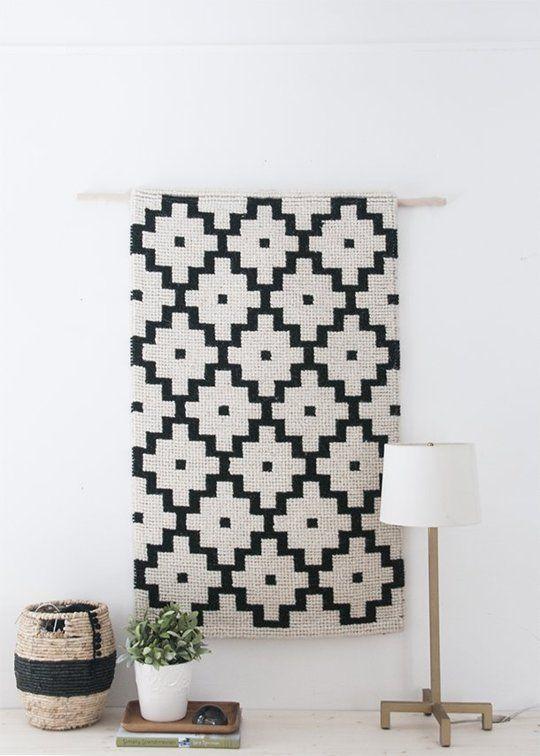 DIY projecten die Texture toevoegen aan een neutrale slaapkamer | Appartement Therapy