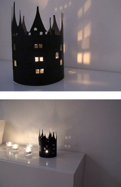 Create your own spooky castle [in Swedish]