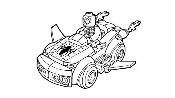 Lego Spiderman Car Coloring Pages Spiderman Coloring Avengers Coloring Pages Avengers Coloring