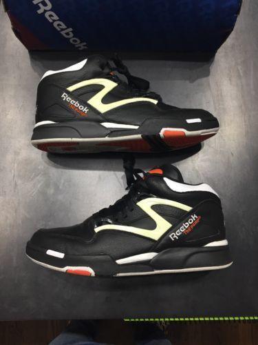2dcb23b78e1 Details about Reebok Pump Omni Lite Dee Brown Retro Black Orange ...
