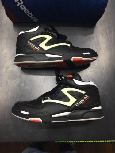 d7124ad1db1a19 Details about Reebok Pump Omni Lite Dee Brown Retro Black Orange ...