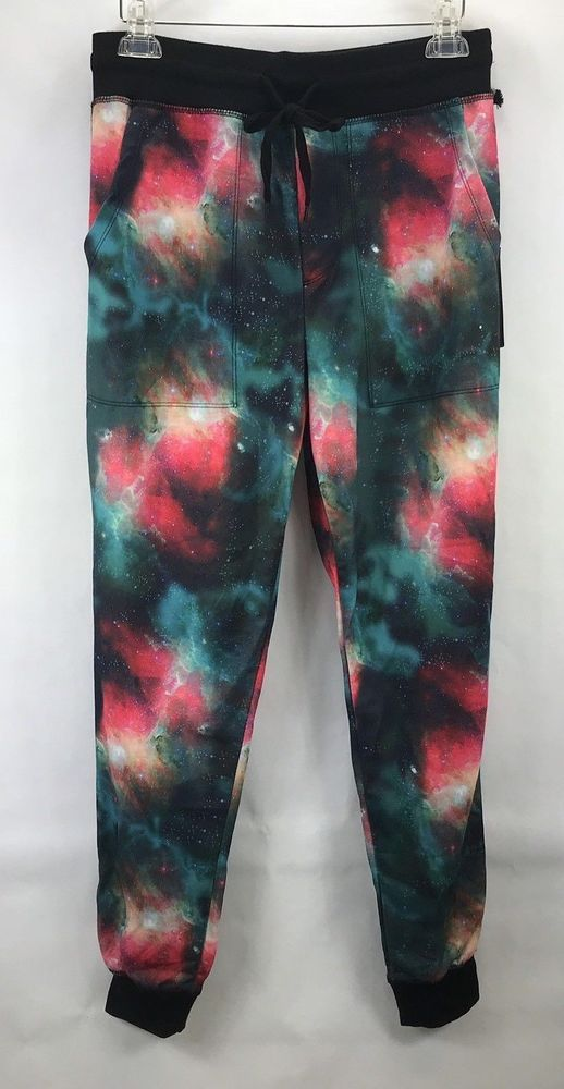 d444da86bc55ee Rue 21 Carbon Most Wanted Jogger Galaxy Pattern Joggers Size S NWT Pants  #Carbon #ActiveWare