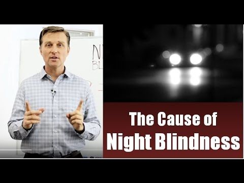 The Cause of Night Blindness  Video: https://www.drberg.com/blog/body-conditions/the-cause-of-night-blindness