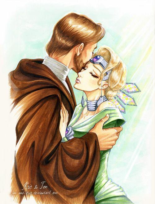 Obi-Wan and Satine <3