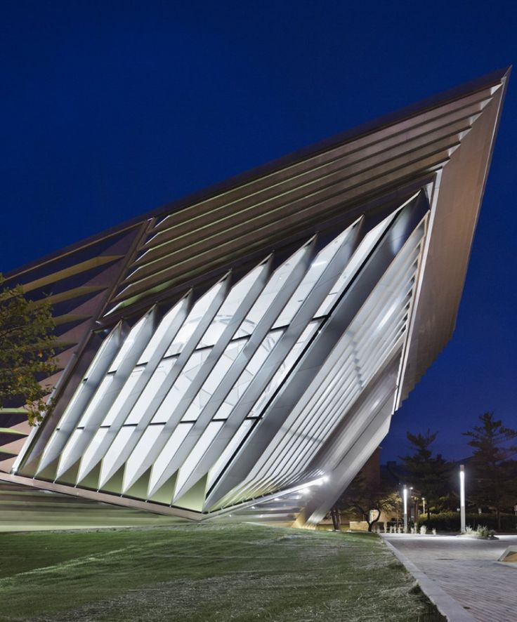Eli & Edythe Broad Art Museum - Architecture - Zaha Hadid Architects