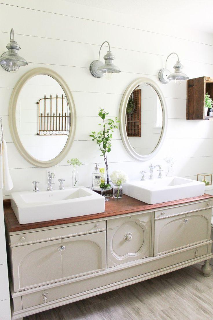 156 best bathroom ideas images on pinterest bathroom ideas room one room challenge week six a farmhouse style bathroom reveal diy bathroom vanitybathroom ideasbathroom