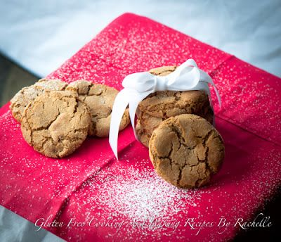 OMG these look so good! Gluten-free Molasses Sugar Cookies.