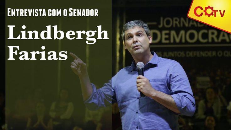 Senador Lindbergh Farias defende anulação do impeachment em entrevista
