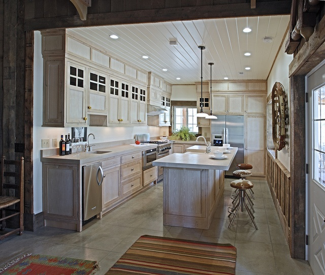 This View Shows The Kitchen