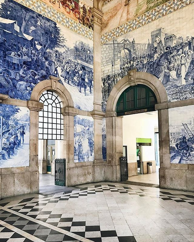 Railway station in Porto Portugal!!