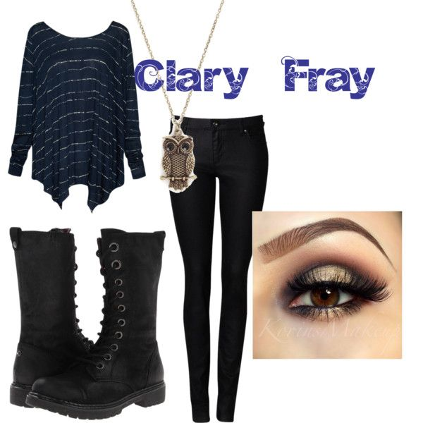 """""""Clary Fray"""" by greekfreak-69 on Polyvore"""