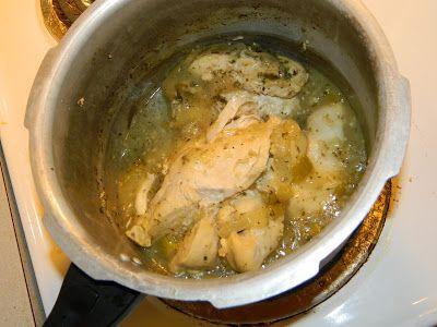 Farm Girl Tails: Pressure Pot Cooking: Tender Lemon Chicken