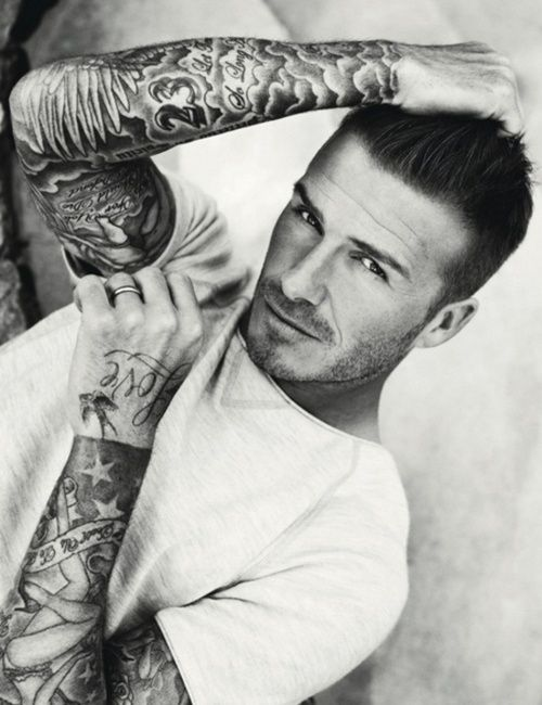 David Bekhams Tattoo Design And Meaning Beckham Celebrity Tattoos Inspiration