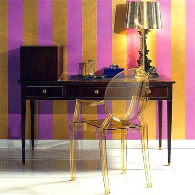 61c9c9be53f3ea6a33d7397b6c87136e  lampe kartell striped accent walls 5 Incroyable Lampe à Poser Kartell Kqk9