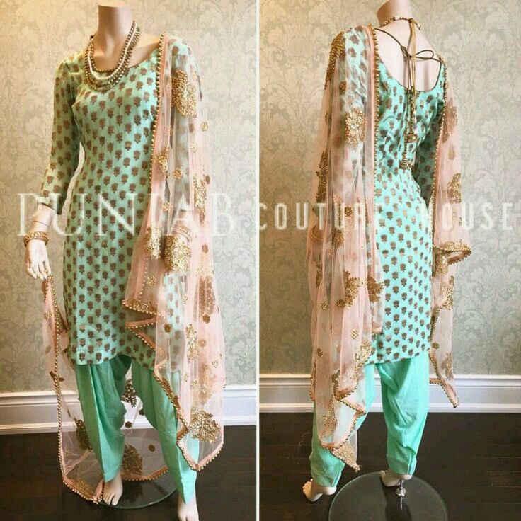 Punjabi suit. New designs, colors. Pinterest:@reetk516