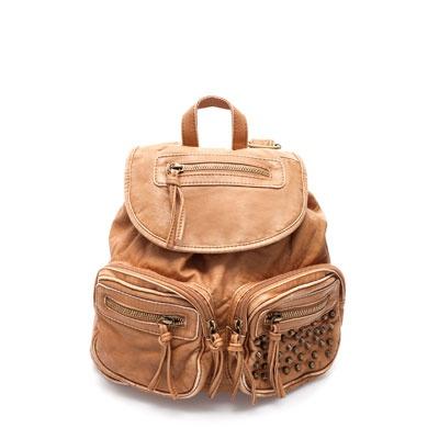 Image 1 de sac à dos clouté de Zara