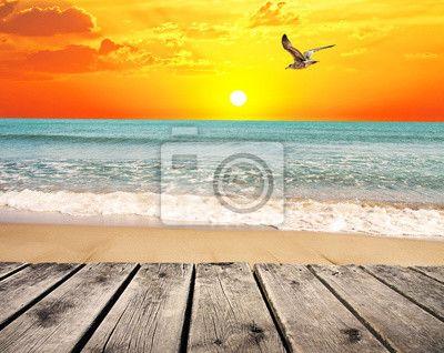 Fototapeta Letní pláž
