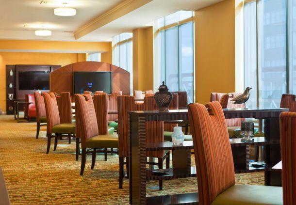 Philadelphia Marriott Downtown  - Philadelphia hotel lounge