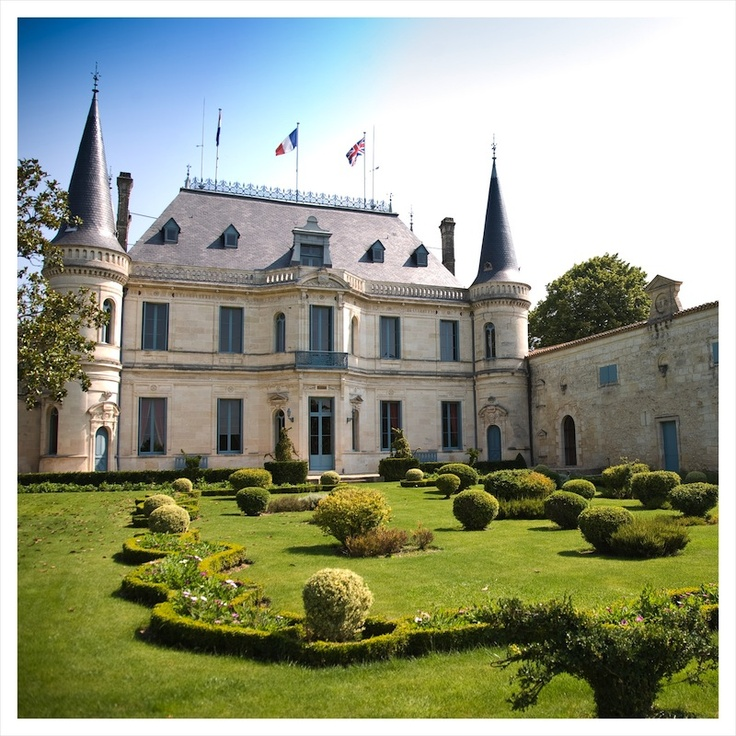 The Château, a monument, constructed as a tribute to wine, which has become its emblem.    http://www.chateau-palmer.com/propriete.php?rubrique=visite_privee=chateau