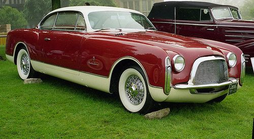 1953 Chrysler Ghia coupe. Perhaps the inspiration for the current 300?
