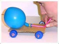 balloon rocket cars