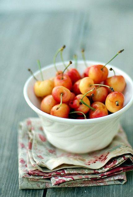 Cherries | Burlap and Hay