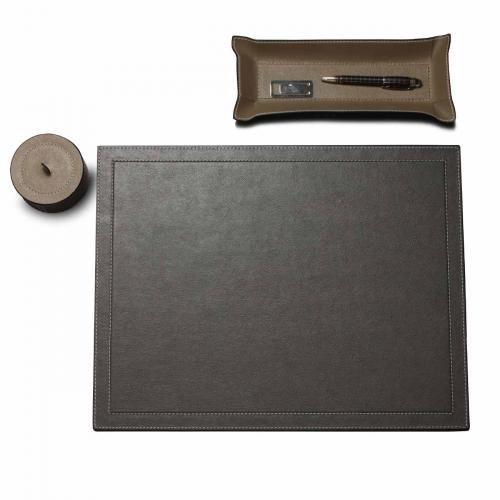 Schreibtischauflage XL, hellgrau