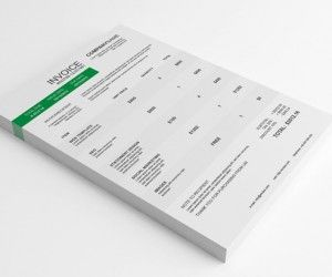 Commercial Invoice Template Canada Pdf  Best Invoice Images On Pinterest  Invoice Template Invoice  Neat Receipt Scanner Review Excel with Blank Service Invoice Pdf Clean Invoice Design  Google Search Cash Receipt Book