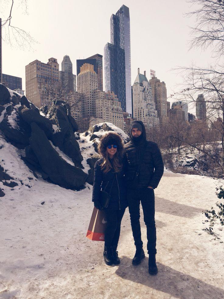 #centralpark #newyork #nyc #fashion #style #winter #mylove