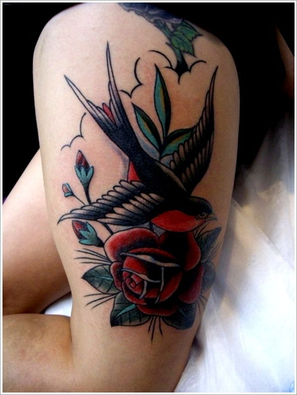 #Swallow tattoo designs (8) http://tattoo-ideas.us