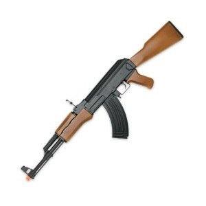 New AK47 Electric Auto Airsoft Gun Automatic Rifle w BB - CM022