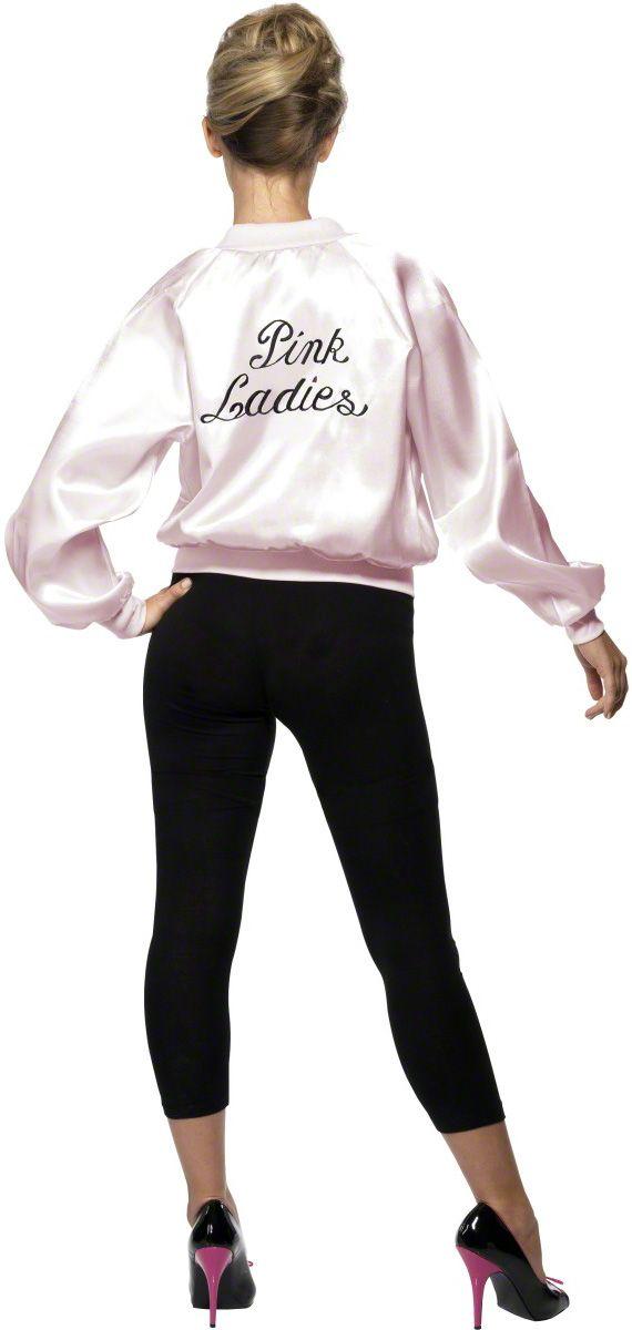 Sandy from Grease. Pink Ladies jacket