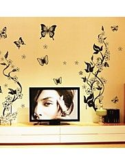 Wall Stickers Wall Decals, Style Butterfly Fly ... – AUD $ 24.30