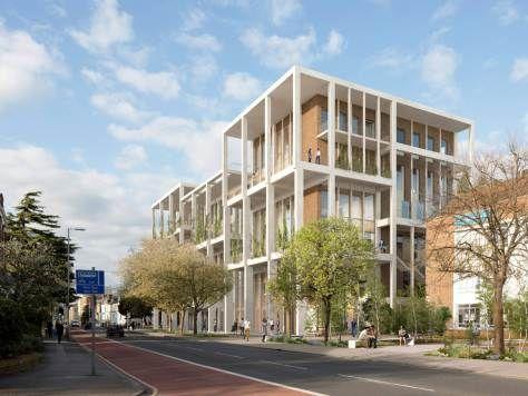Go ahead for Kingston University by Grafton Architects