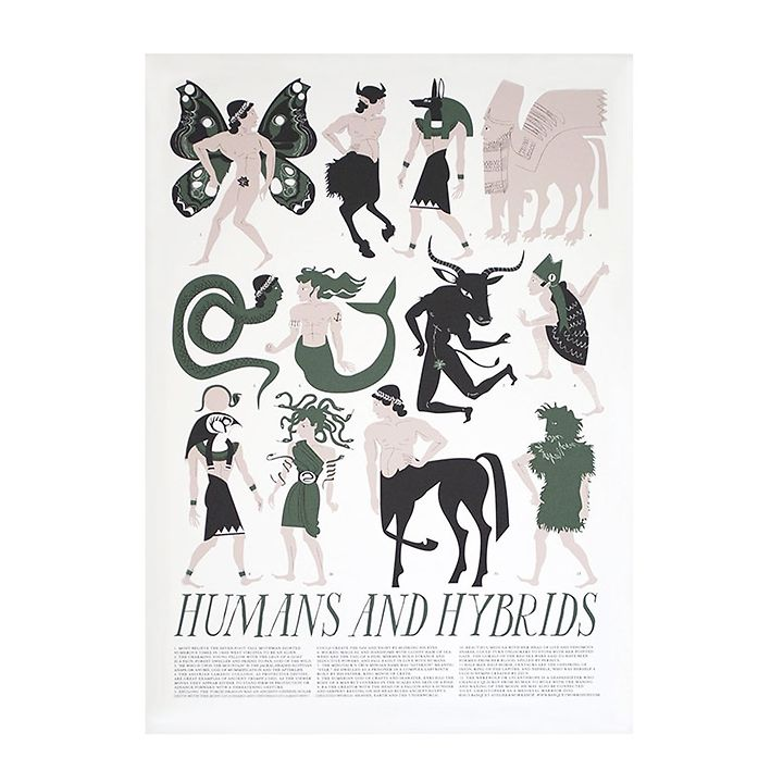 Humans and Hybrids by Banquet Workshop & Atelier (Signed Screenprint)