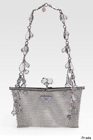 Prada Rete Metal Evening Bag: Evening Bags, Design Handbags, Prada Handbags, Handbags Metals, Rete Metals, Prada Rete, Handbags And Purses, Handbags Online, Fashion Handbags