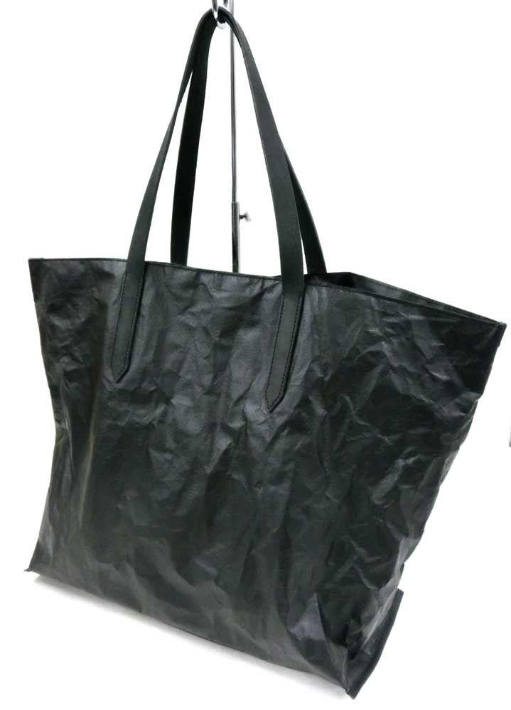 TYVEK TOTE BAG / TYVEK (PU EMBOSS) x LEATHER / Men's bag