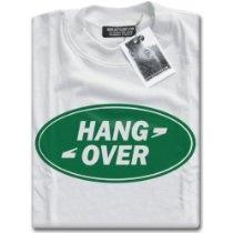 HotScamp Premium Hangover #LandRover Parody Mens White T-Shirt