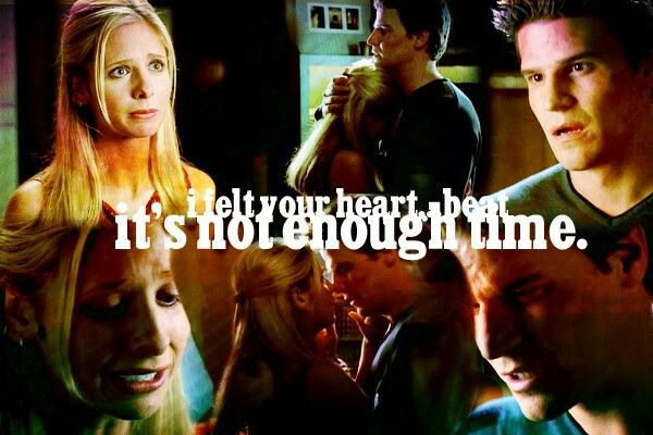 buffy and angel relationship episodes of glee