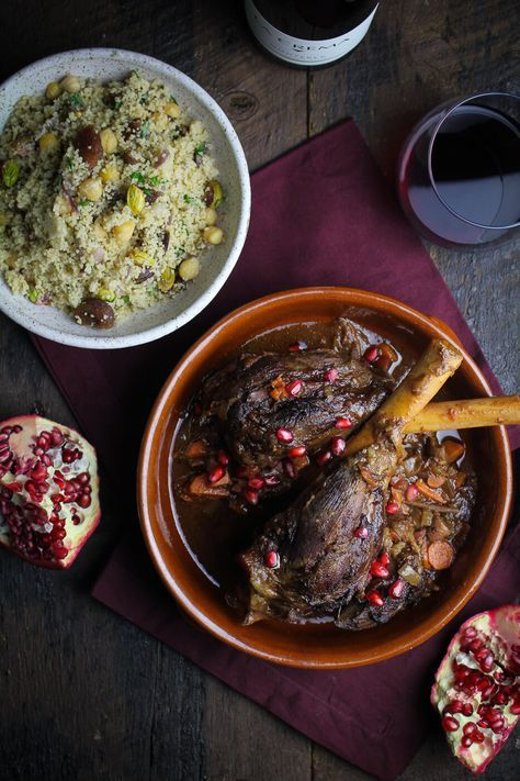 how to cook braised lamb shanks