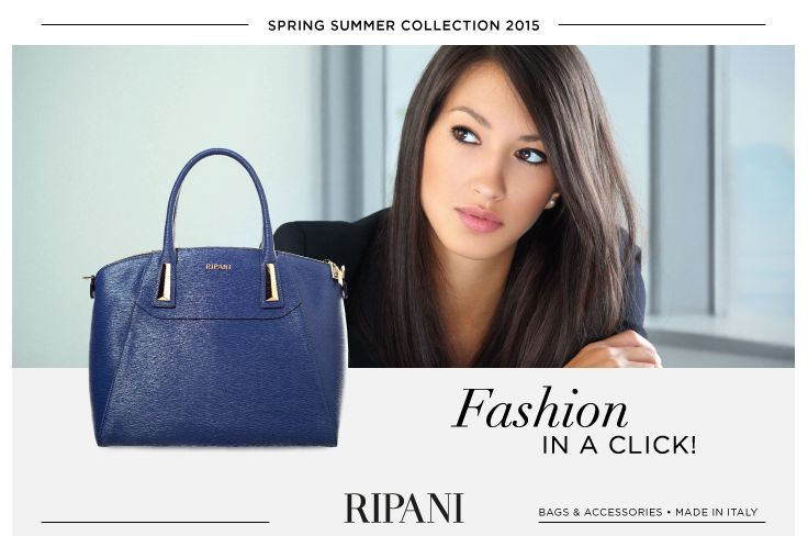Spring Summer Collection 2015 - model DIAMANTE #feedyourstyle #shopping #bag #fashionstyle