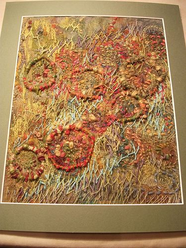Hand stitched, inspired by Jean Littlejohn
