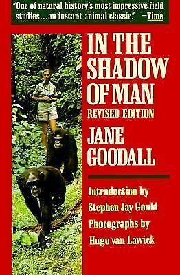 In the Shadow of Man by Stephen Jay Gould and Jane Goodall - Paperback 395331455 | eBay