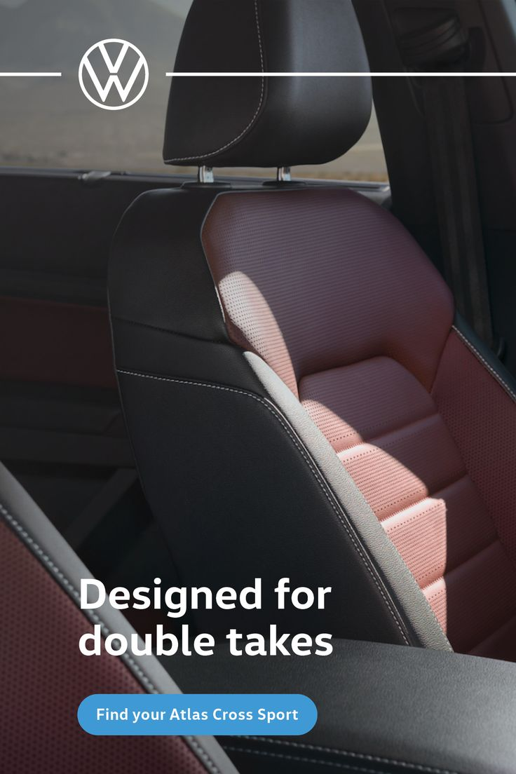 With available dark burgundy leather interior, the Atlas