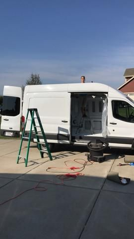 A Step By Guide To Installing The Fan In Your Camper Van Conversion