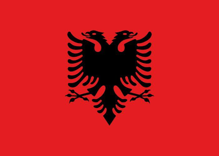 ** 山鷹國 **; Albania ;【 欽定意譯 】,俗稱「阿爾巴尼亞」; Shqipëria  = Shqipëri = 山鷹 (山鷹國文 ,Online Etymology Dictionary )