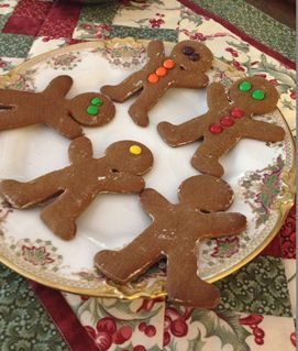 The Best Gingerbread Cookie Recipe Ever | Odds & Hens